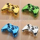 Chrome Custom Wireless Controller Shell Case Button Replacement Kit For Xbox 360