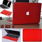 5in1 3D Carbon Fibre Sticker Decals Skin Screen Cover For MacBook Pro 13
