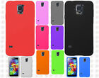 For Samsung Galaxy S5 Rubber SILICONE Soft Gel Skin Case Phone Cover Accessory