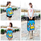 Fashion New 3D Backpack Jump Style 2D Drawing From Cartoon Paper Bag Comic