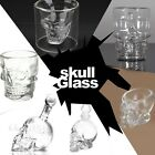 Crystal Skull Head Vodka Whiskey Wine Beer Home Bar Glass Drinking Cup Decanter
