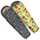 Highlander Childs Kids Furry Friends & Robot Print 2-3 Season Sleeping Bags