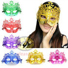 Masquerade Venetian Costume Eye Party Half Face Plastic Crown Mask SNA006c145