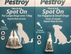 SPOT ON FLEE AND TICK TREATMENT FOR PUPPIES,PUPPY,SMALL,LARGE  DOGS OVER 15KG KG