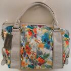 FLOWER PATTERN BELLEROSE Handbag PURSE BRIGHT SUMMER PRINT Shoulder Bag Purse