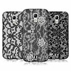 HEAD CASE DESIGNS BLACK LACE CASE COVER FOR SAMSUNG GALAXY S4 MINI I9190 I9192