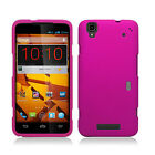 Boost Mobile ZTE Boost Max Rubberized HARD Case Phone Cover + Screen Protector