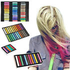 Fashion Hair Chalk Dye Temporary Non-toxic 6 12 24 36 Colors Pastels Salon Kit