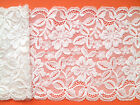 NEW~ Beautiful Vintage Stretch Ivory Scalloped Lace 16 cm Wedding/Lingerie