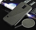 For Samsung Galaxy S5 Genuine Aluminum Frame+Carbon Fiber Back Case Metal Cover