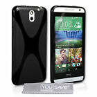 Yousave Accessories For The HTC Desire 610 Soft Silicone Gel X-Line Case Cover
