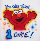 ELMO BIRTHDAY T SHIRT NEW PERSONALIZED INFANT AND TODDLER SIZES