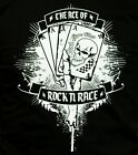 Tattoo T shirt Rock n Race Wear T shirt Karten The Ace..black Rock n Roll FTW V8