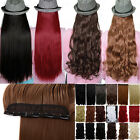 3/4 full head Clip ins in Hair Extensions long new great extension U choose ◐~◐