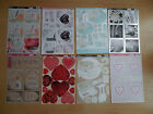 KANBAN CLEARANCE- 2 TOPPER SHEETS, ROMANCE ,YOU CHOOSE, BRAND NEW, PERFECT STOCK