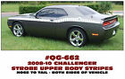 QG-662 2008-10 DODGE CHALLENGER - STROBE SIDE STRIPE - UPPER BODY DECAL