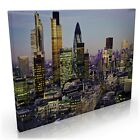 LONDON CITY CANVAS AT NIGHT SUNSET VIEW PREMIUM PRINT WALL ART PICTURE ALL SIZES