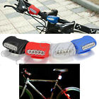 5 LED Silicone Bike Bicycle Cycling Head Front Lamp Rear Light Safety Warning OV