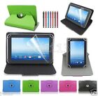 """Rotating Leather Case+Gift For 7"""" FileMate Clear 7 X4 X2 Android Tablet GB1"""