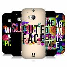 HEAD CASE DESIGNS FLOWERY STATEMENTS CASE COVER FOR HTC ONE M8