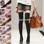 Fashion Womens Girls Soft Cotton Over The Knee Socks Hosiery Thigh High Stocking