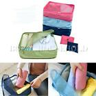 Portable Nylon Mesh Clothes Storage Bags Case Travel Pouch Organizer Tidy Box