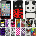 For Apple Ipod Touch 4 (4th Generation) Owl Snap On Hard Case Cover Accessory