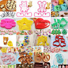 MIX Set Fondant Muffin Biscuit Cookie Cake Decorating Maker Mold Cutter Tool DIY