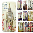 Eiffel Phone Tower Hard Snap On Protective Cases Cover Skin For Apple iPhone 5C