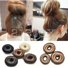 Donut Stretch Sweet Elastic Hair Updo Buns PieDevice Buns Extensions