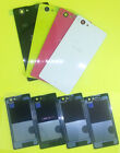 New Toughened Glass Battery Door Back Cover Case For Sony Xperia Z1 Mini Compact