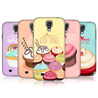 HEAD CASE DESIGNS CUPCAKE HAPPINESS CASE COVER FOR SAMSUNG GALAXY S4 I9500