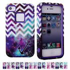 Hi-Q NEW PC +Silicon Protective Hard Case Cover Shell For Apple iPhone 4 4S HOT