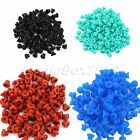New 100 Pcs Silicone Tattoo Machine Needle Armature Bar Half Grommets Nipples
