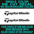 2x Taylormade Golf Club, Vinyl Decal, Die Cut Car, Truck, Window sticker