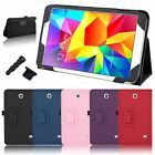 "For SAMSUNG GALAXY Tab 4 8.0"" T330 SM-T330NU Premium Stand PU Leather Case Cover"