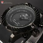Goblin Shark Luxury Mens Digital LED Date Silicone Quartz Sport Wrist Watch+Box