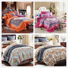 Colorful Paisley King Size Bed New 100% Cotton Quilt/Doona/Duvet Cover Set