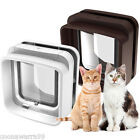 SureFlap DualScan Cat Flap in White or Brown - Microchip Fast Scan FREE POST