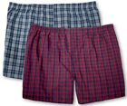 Big Men's Plaid Boxers Underwear 2-PACK 3XL - 8XL Players/Christopher Hart #1132
