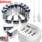 EBL 2300mAh AA Rechargeable Batteries w/ Multi Slots NIMH NICD AA AAA Charger