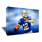 Indianapolis Colts ANDREW LUCK Poster Photo Painting Artwork on CANVAS Wall Art $36.0 USD on eBay