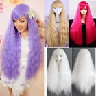 Charming Women Lady Curly Wavy Long Hair Cosplay Costume LOLITA Wig Full Wigs