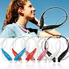 Wireless Bluetooth Headphone Sport Stereo Headset Earphone for Samsung iPhone LG