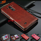 Luxury PU Leather Wallet Flip Cover Stand Case For LG G3 D850 D855 LS990