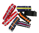 New Premium Quality SS Nylon Watch Band Military Strap  Fit  All Watches