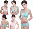 Sale Cotton Women's Sleep Feeding Nursing Maternity Breastfeeding Bra Tops M-ZXL