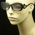 READING SUN GLASSES TINTED CLEAR FULL LENS LADY WOMEN FASHION NEW POWER LP1
