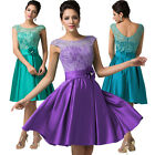 Pageant Lace Evening Prom Wedding Short Dress Quinceaera Party Cocktail Clubwear