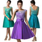Zipper Back Ladies Formal Party Dress Princess Cocktail Evening Proms Gowns New